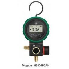 """Манометричний цифровий колектор  (HP) HONGSEN HS-D480AH-36"""" (R134a, 1234yf, 404A, 410A, 600A та ін.)"""