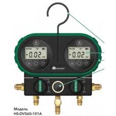 """Манометричний цифровий колектор HONGSEN HS-DVS60-101A-60"""" (R134a, 1234yf, 404A, 410A, 600A та ін.)"""