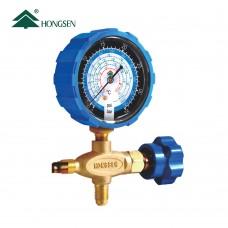 Манометричний колектор  (LP) HONGSEN HS-466NAL (R410, 22, 134a, 404A, гумове покриття)