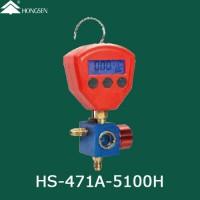 Манометричний цифровий колектор (HP) HONGSEN HS-471A-5100H (R22, 134a, 404A, 407с, 410A)