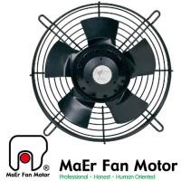 YWF 2E-200S Вентилятор осьовий 200мм MAER YDWF67L15P2-280P-200 (220В, 619м3/год, IP54) в Києві і Україні.| MAER