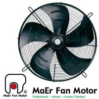YWF 4D-450S Вентилятор осьовий 450мм MAER YSWF74L60P4-522N-450 (380В, 4987м3/год, IP54) в Києві і Україні.| MAER