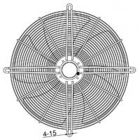 YWF 6D-710B Вентилятор осьовий 710мм MAER YSWF127L65P6-840N-710 B (380В, 12613м3/год, IP54) в Києві і Україні.| MAER