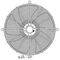 YWF 6D-800B Вентилятор осьовий 800мм MAER YSWF127L65P6-920N-800 B (380В, 16895м3/год, IP54) в Києві і Україні.| MAER