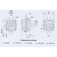 YZF-34-45-18/26 Двигун обдуву для крильчатки 300мм Weiguang (220В, 850м3/год, IP54) в Києві і Україні.| Weiguang